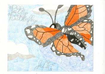 Pretty Butterfly by Gelefant