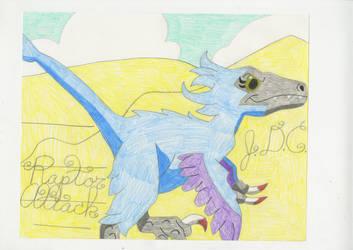 Raptor Attack by Gelefant