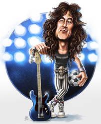 Steve Harris (Iron Maiden) by ShannonTrottman