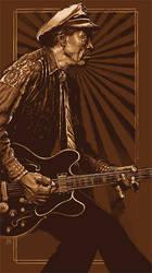 Chuck Berry by ShannonTrottman