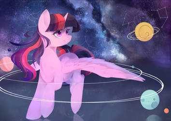 Universe by haidiannotes