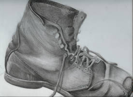 Very Old Boot by Brierose