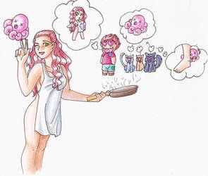 Octopi Cooking by Brierose