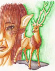Deer God by Brierose