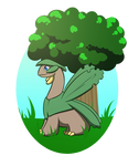 Treeop the Tropius - pkmnation by Brierose
