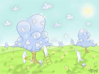 Cloud tree by hellgus