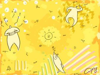 Sun +Threemen series+ by hellgus