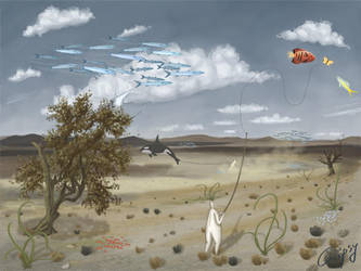 Flying fish by hellgus