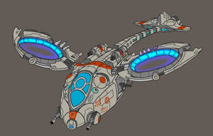 Dropship Concept by JadeGreen17