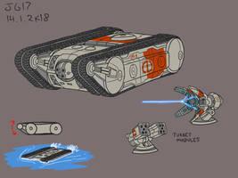 Modular Assault Crawler by JadeGreen17