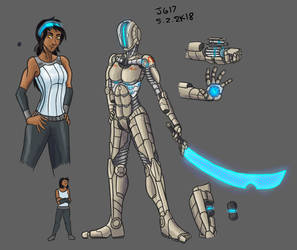 Animus suit 4 by JadeGreen17