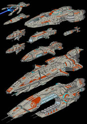 Warship Collection 2 Electric Boogaloo by JadeGreen17