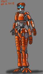 Robot Redraw by JadeGreen17