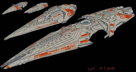 Supercapital Ships by JadeGreen17