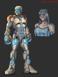 Animus Suit 7 by JadeGreen17