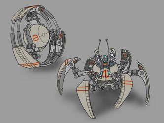 Screeching Scarab Robot by JadeGreen17