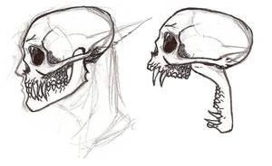 Linda Stage 2 Skulls WIP by uhlrik