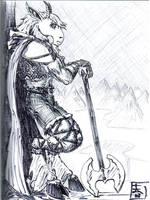 Uhlrik contemplative by uhlrik