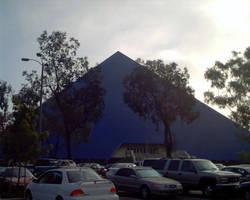 Blue Pyramid by uhlrik