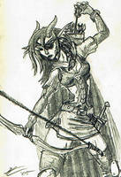 Mutant Archer by uhlrik