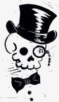Dapper Skull by uhlrik
