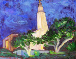 Untitled - Los Angeles Temple by uhlrik