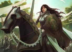 Knight Exemplar by JasonChanArt