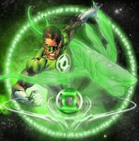 Green Lantern Ion by dankalel23