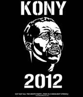 Kony 2012 Stencil Poster Resource - Kony2012 stenc by 5starbrand