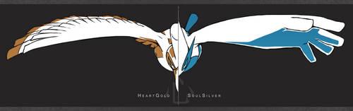 HeartGold and SoulSilver by Kureculari