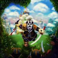 Pandaren by SASHlMlSAN