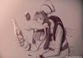 Goofy by hartvig-art18