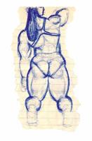 Female Bodybuilder by ader-x