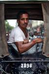 Kolkata Rickshaw wala Portrait by khurafati