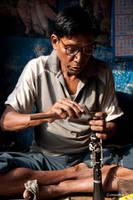 Music shop, Laal Bazar by khurafati
