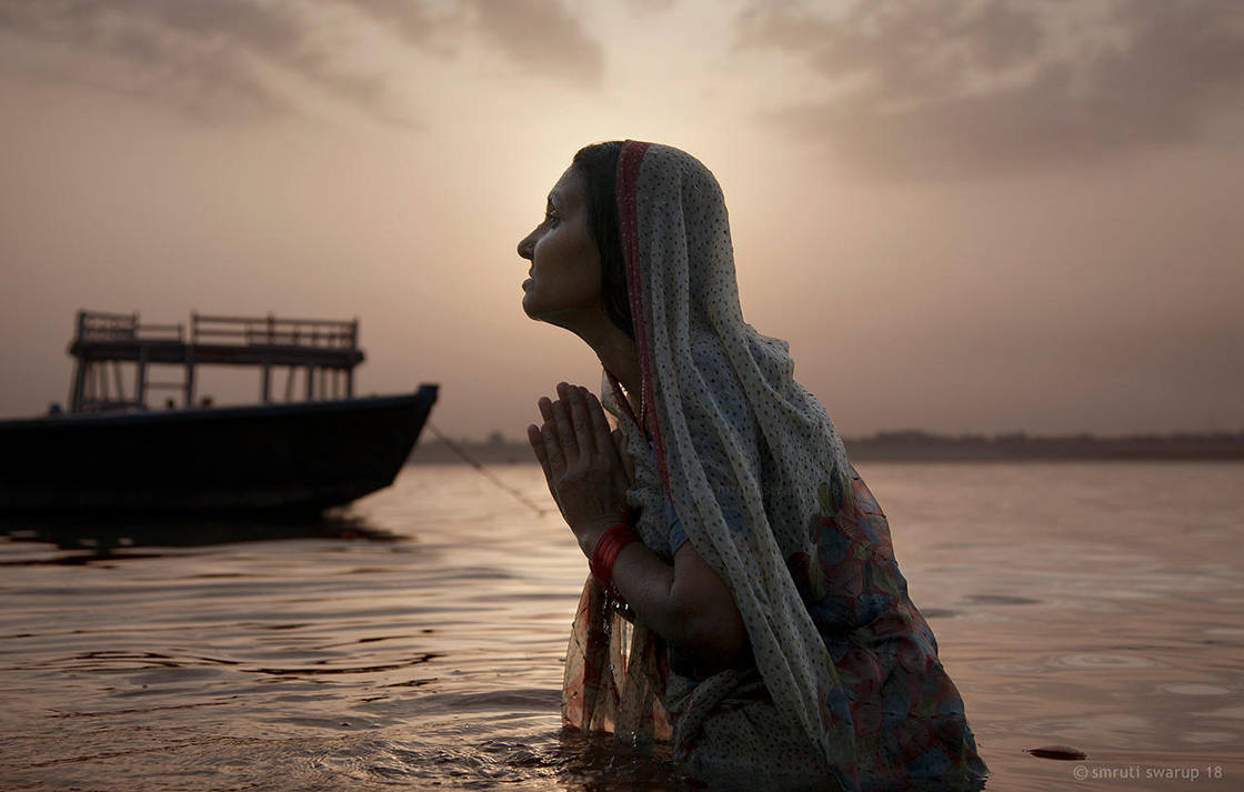 Prayer - Ghats of Varanasi by khurafati