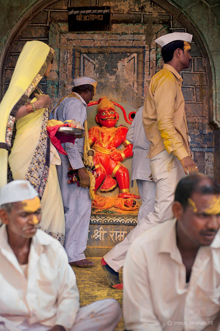 Hanuman - Jejuri by khurafati