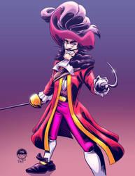 Captain Hook - EWG Christmas Commission by EryckWebbGraphics