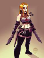 Natalia Danger Cobra Girl - Commish by EryckWebbGraphics