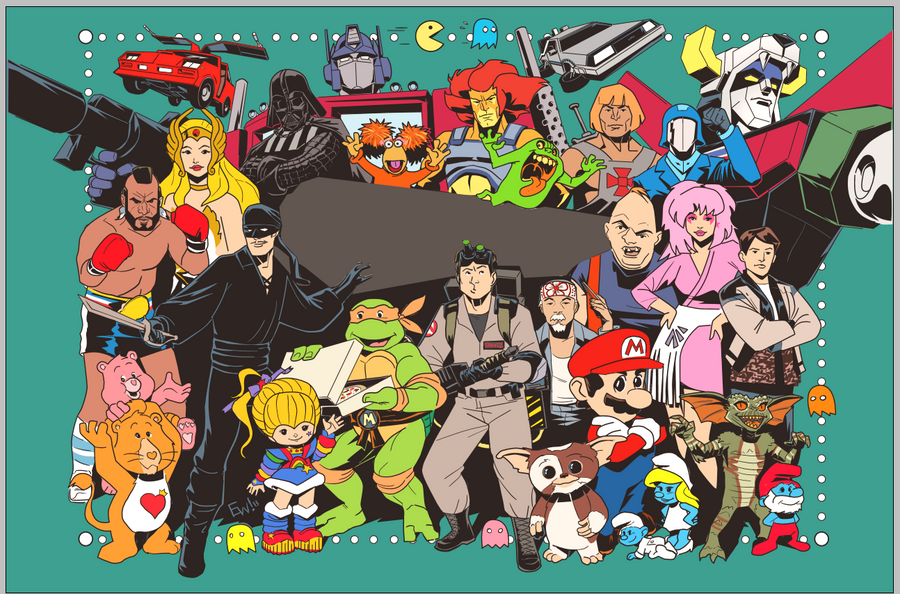 80s Nostalgia By EryckWebbGraphics