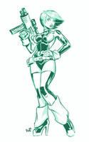 Gun Totin Girly by EryckWebbGraphics
