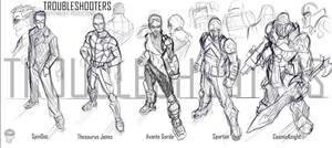Troubleshooters by EryckWebbGraphics