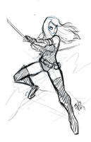 Rebelle - Commission WIP by EryckWebbGraphics