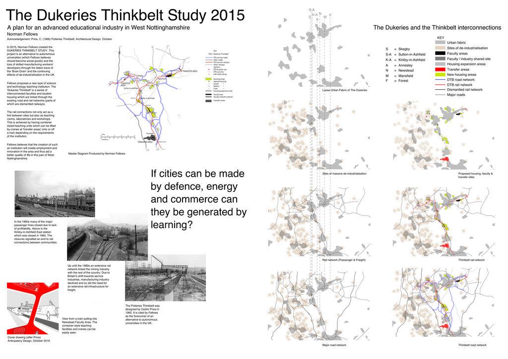 The Dukeries Thinkbelt Study 2015 by Archiblog