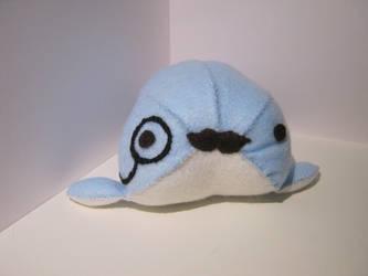 Sir Fail Whale Plushie by Jooo-chan