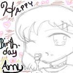 Happy Birthday Amy by Jooo-chan
