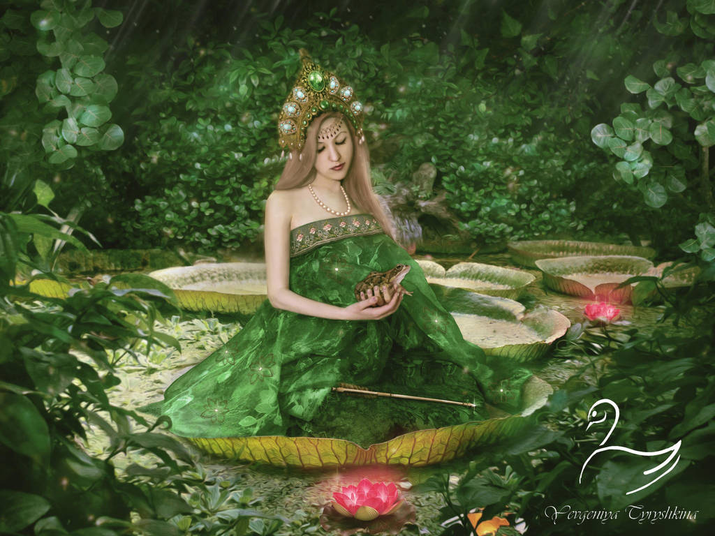 The Frog Princess by SwanYevgeniya