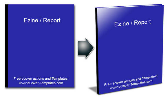 Actions transforming 2D to 3D by ecover-templates
