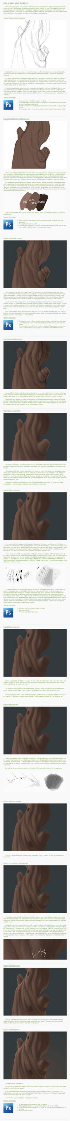 How to Paint a tree... by Norke