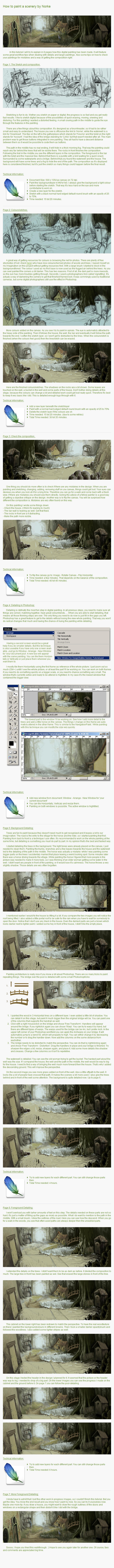 How To Make A Digital Painting by Norke